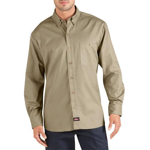 Genuine Dickies Men's Long Sleeve Canvas Work Shirt