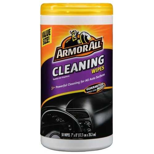 Armor All Cleaning Wipes, 50 Pack, Car Care
