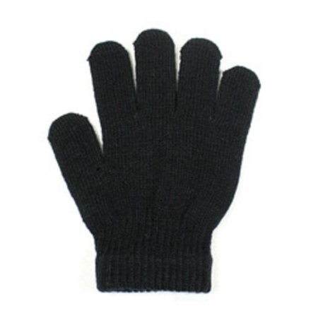 Small Magic Stretch Winter Knit Gloves for Children or anyone with small hands -