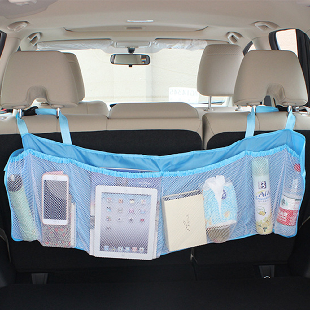 Micelec Back Seat Car Trunk Organizer Backseat Car Organizer Storage Bag for SUV Car