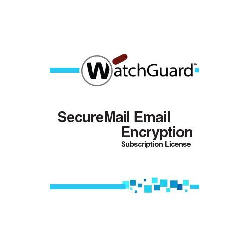 WatchGuard SecureMail Email Encryption for XCS Subscription license ( 1 year ) 250 seats by WatchGuard