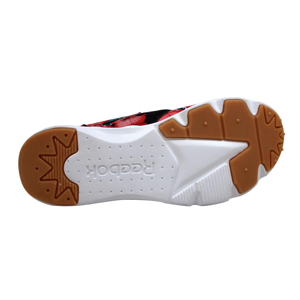 Reebok BD1099: Women's Furylite Fg Fashion Sneaker, Floral/Black/Scarlet/White