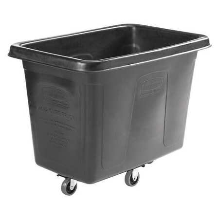 Rubbermaid 1867538 Cube Truck,12 cu. ft.,w/Quiet Caster G...