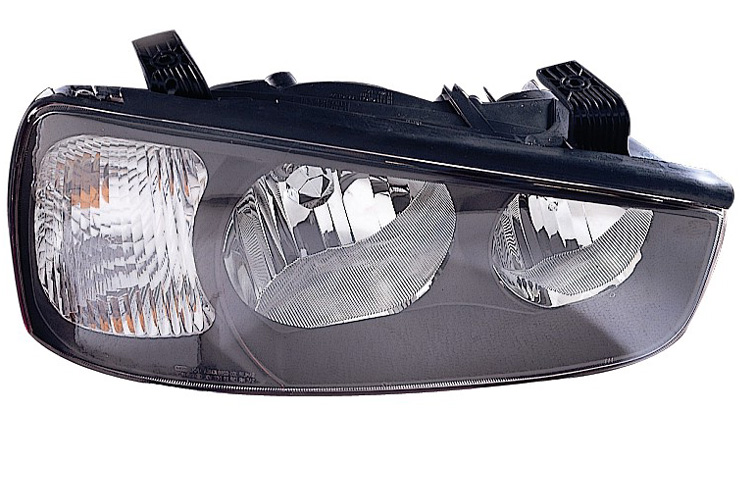 Replacement Vision HN10081A1R Passenger Side Headlight For 01 03 Hyundai  Elantra