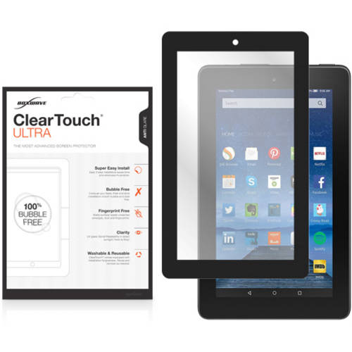 BoxWave ClearTouch Ultra Anti-Glare Bubble Free Frame Screen Guard for Amazon Fire (2015)