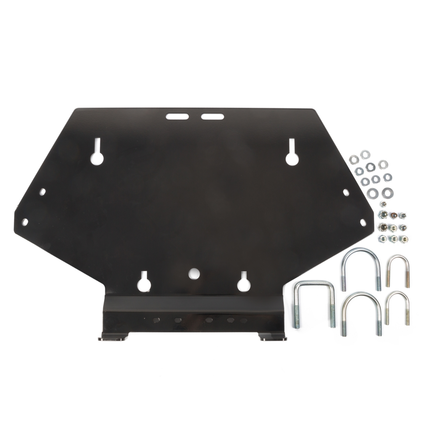 CLICK nGO CNG 2 Snow Plow Bracket for UTV Black  #374146