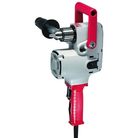 Hole-Hawg 1675-6 Heavy Duty Right Angle Corded Drill, 120 V, 7.5 A, 1/2 in Keyed Chuck