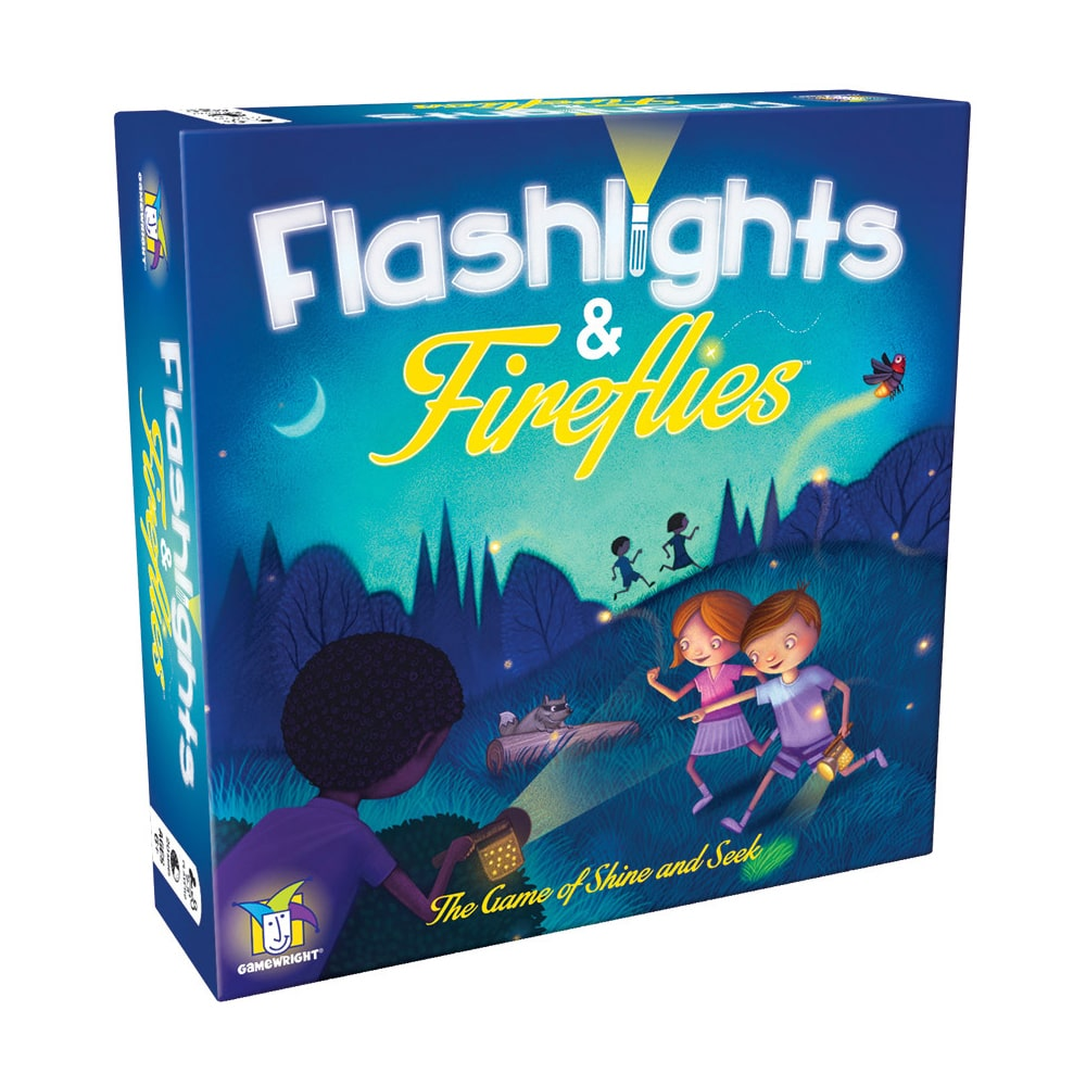 Flashlights and Fireflies: The Game of Shine and Seek