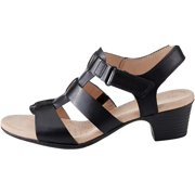 Clarks Womens VALARIE KERRY Leather Open Toe Casual Strappy Sandals