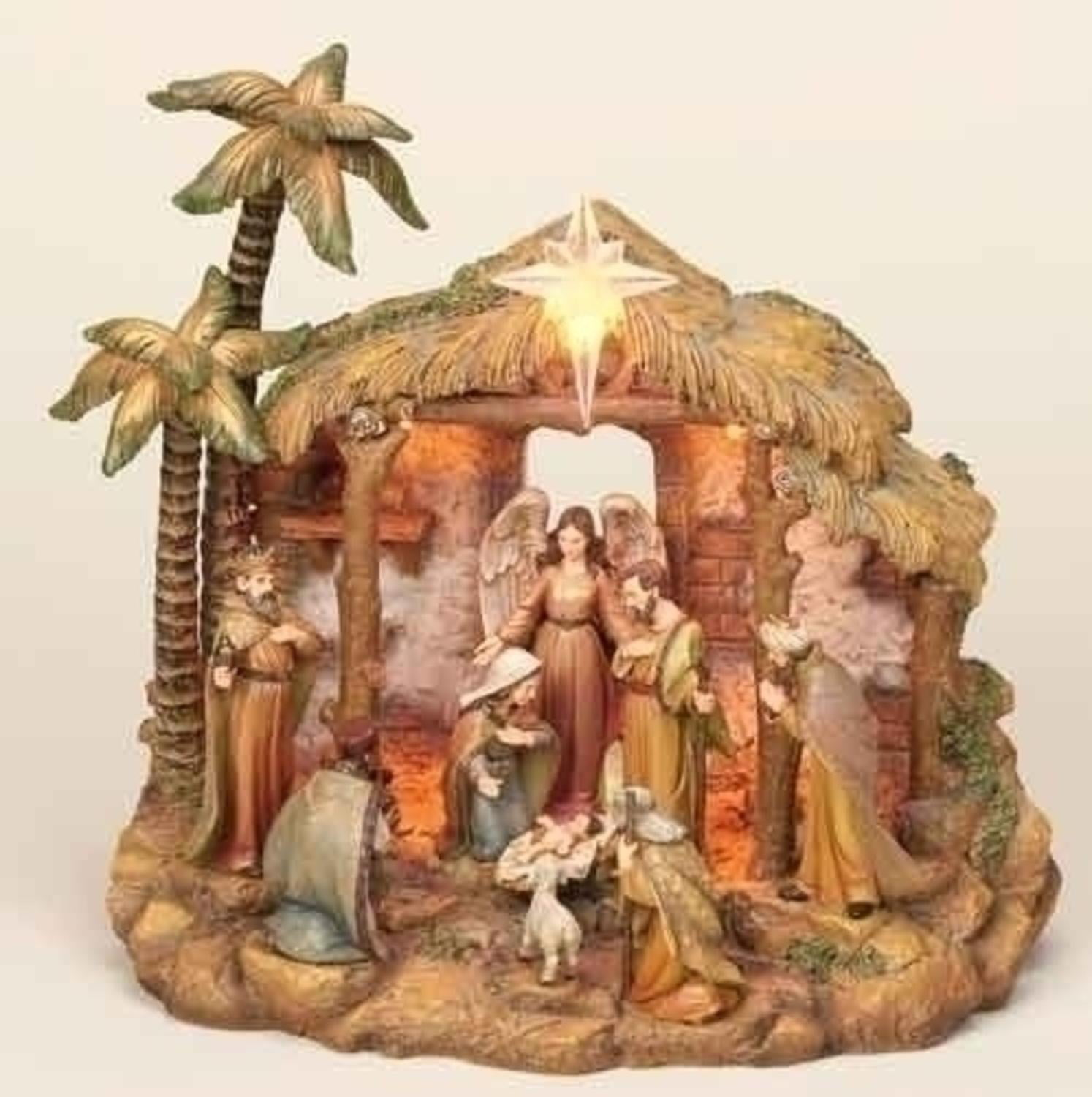 christmas nativity manger sets