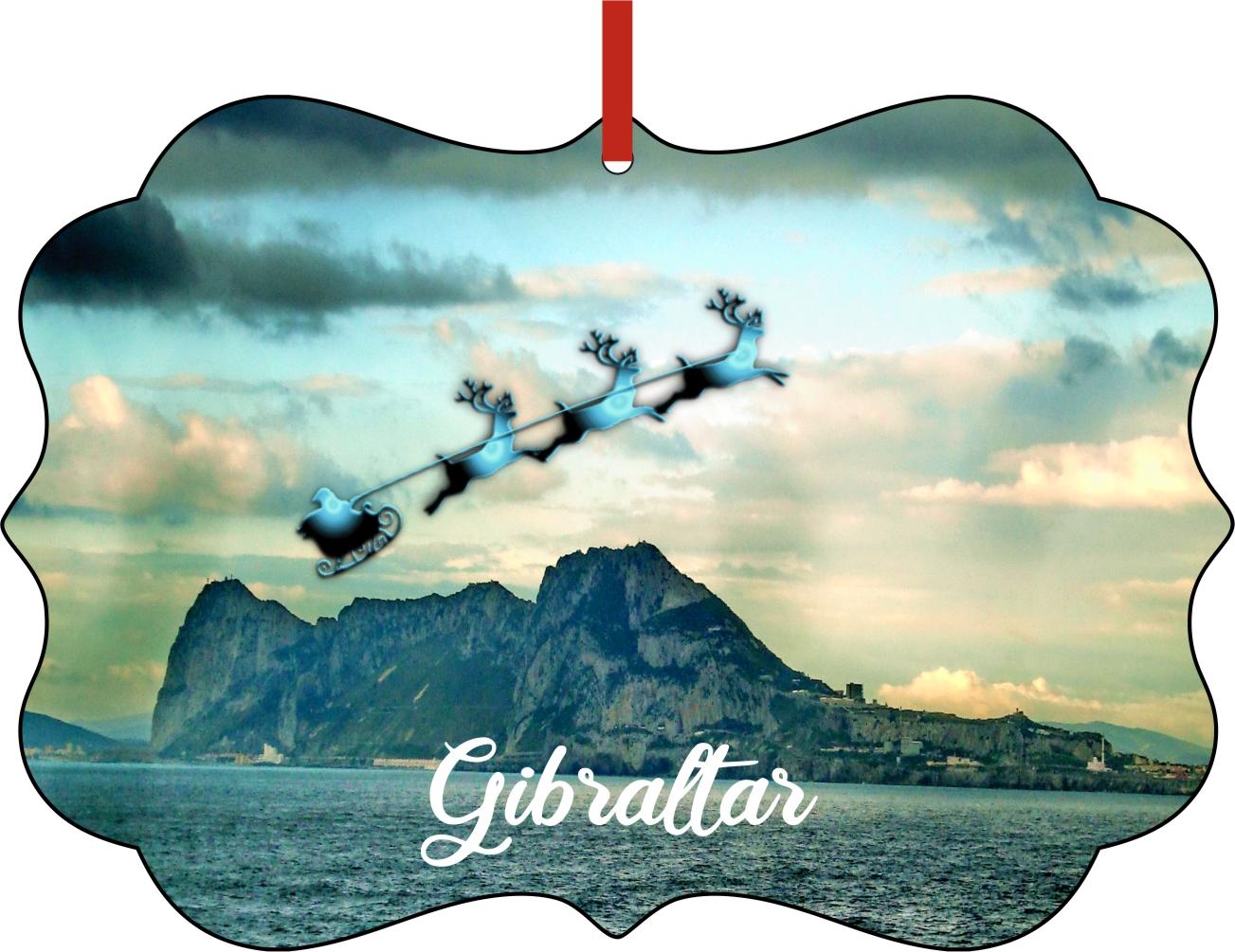 Rock of Gibraltar Ornament