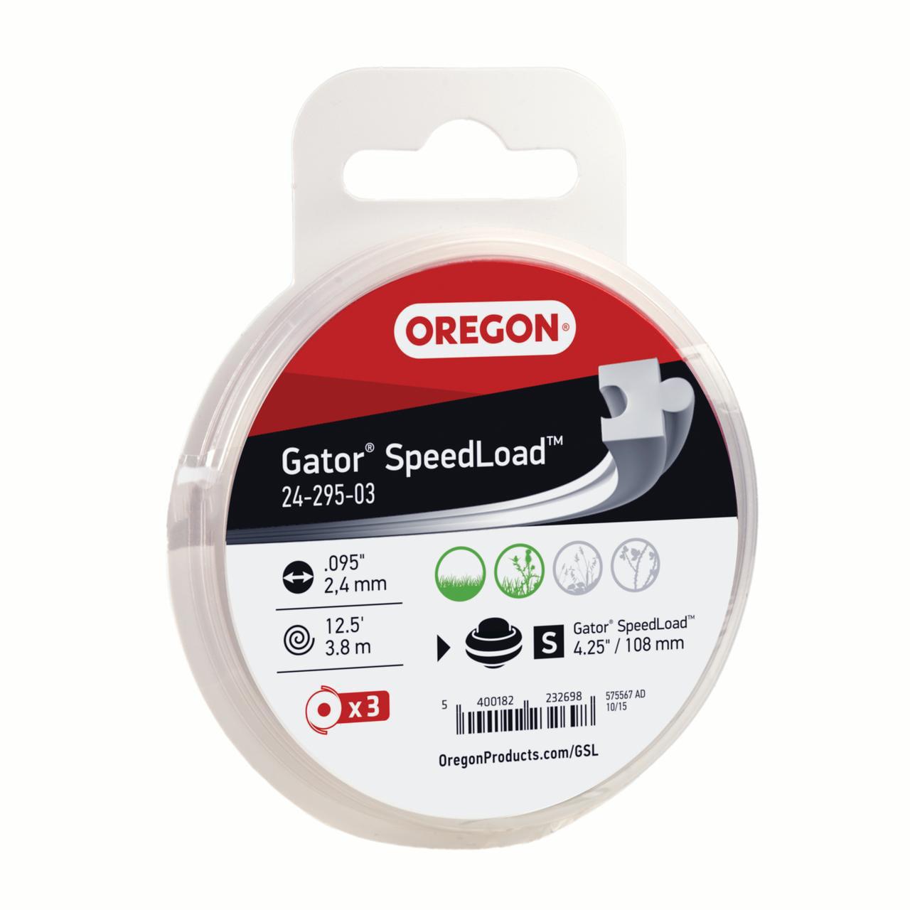 Gator SpeedLoad,SM Disk,.095,3Pk