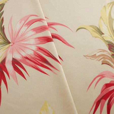 Designer Cotton Multi Serenity Palm Print  Decorating Fabric, Fabric By the (Designer Printed Cotton)