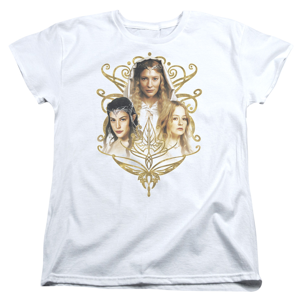 The Lord of the Rings Women Of Middle Earth Womens Short Sleeve Shirt