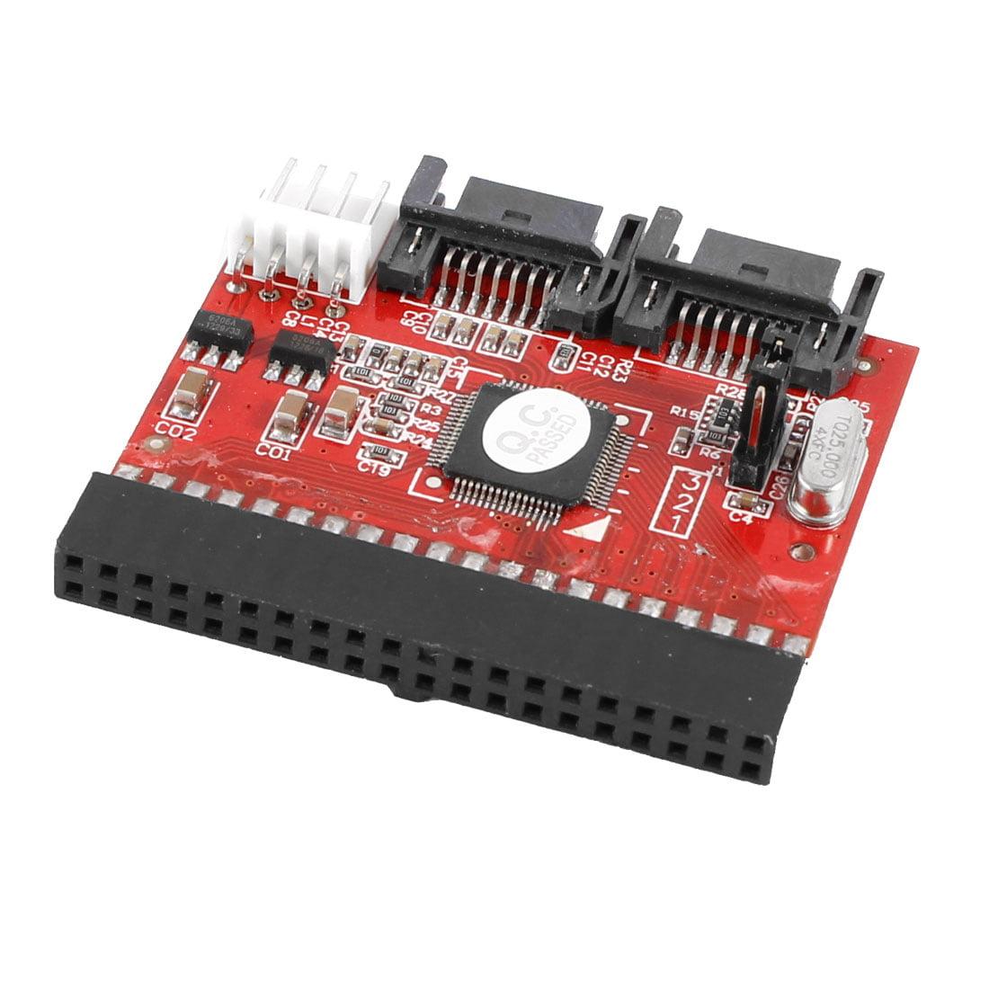 Unique Bargains 2 Way 40 Pin IDE to SATA or SATA to IDE C...