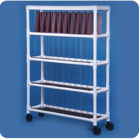 Notebook Chart Rack - Holds 30 Ring Binders - NCR40S - Small: 65