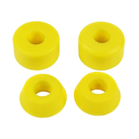 Skateboard Longboard Truck Replacement Bushings Med 94a 4-Pack (for 2