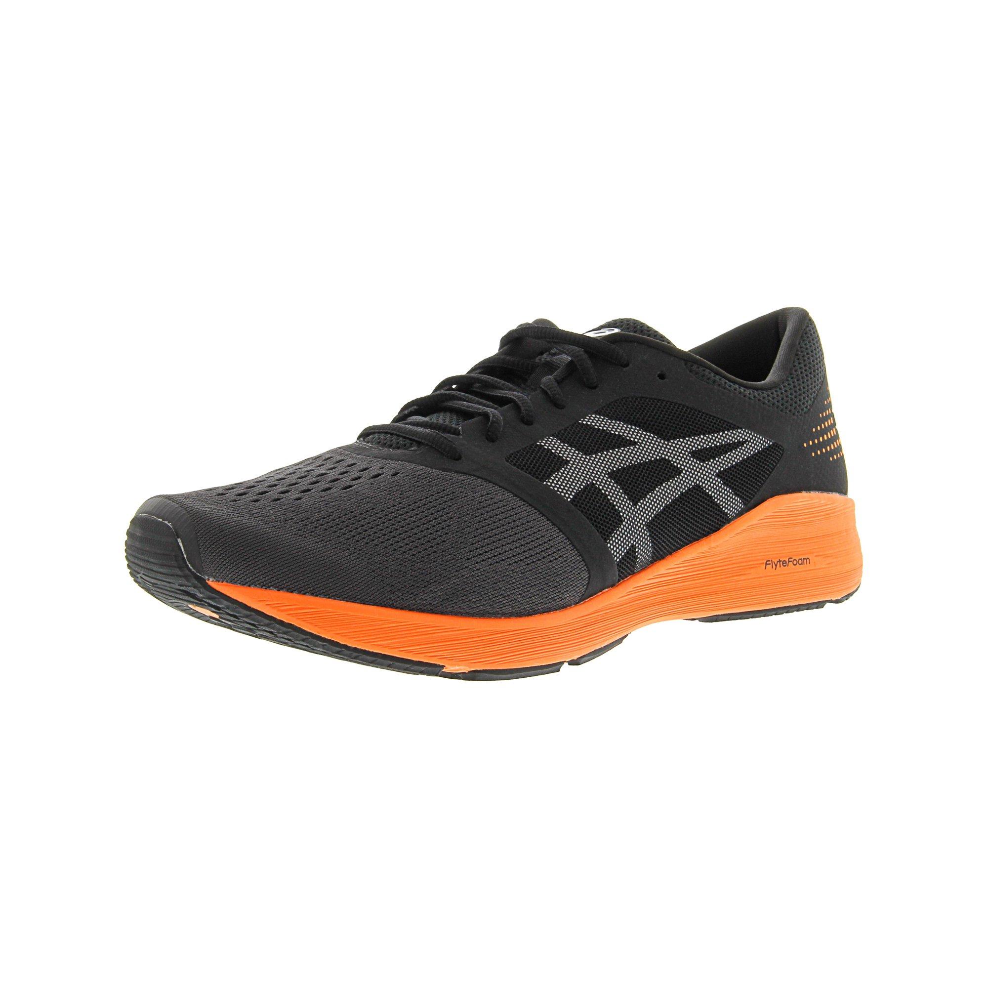 buy popular 2dc16 f078d Asics Men's Roadhawk Ff Black / White Silver Ankle-High Running Shoe - 15M