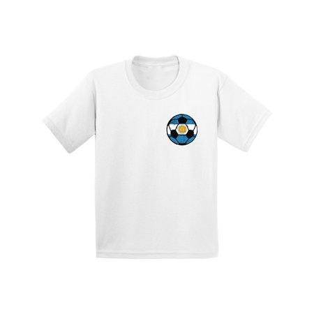 Awkward Styles Argentina Soccer Youth Shirt Argentina Youth Soccer Team Argentina Shirts Argentinian Flag Gifts Argentina Soccer Ball Shirt for Boys Argentina Tshirt for Girls Gifts from - Soccer Team Gifts