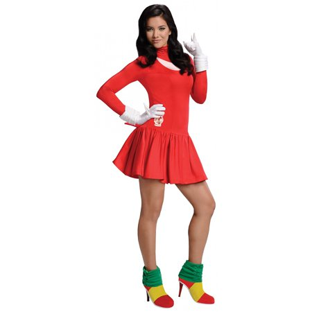 Sonic the Hedgehog Adult Costume Knuckles (Red) - - Sonic Halloween
