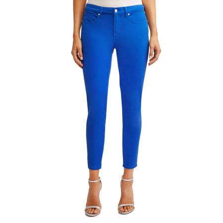 Sofia Jeans By Sofia Vergara Sofia Skinny Mid Rise Stretch Ankle Twill Jean Women's (Cobalt)