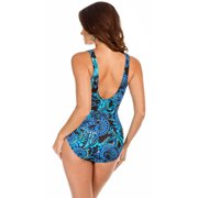 Miraclesuit Women Paisley Palooza Escape Swimsuit 12  US