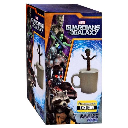 Marvel Guardians of the Galaxy Dancing Baby Groot Figural Mug