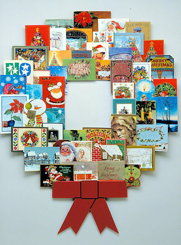 christmas decoration wonder wreath jumbo 44 x 36 card photo