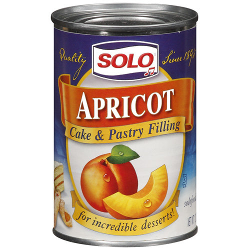 Solo Apricot Cake & Pastry Filling, 12 oz