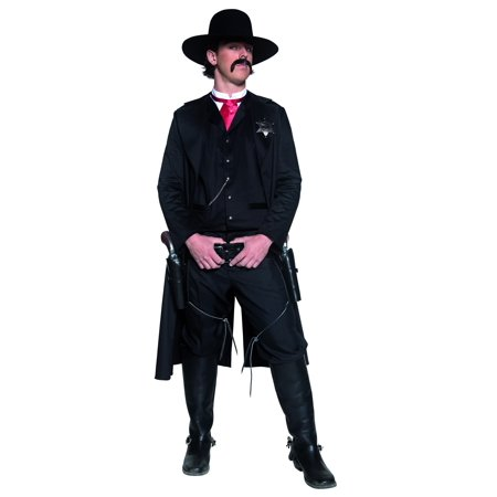Adult Western Sheriff Costume Smiffys - Western Sheriff Costume Men
