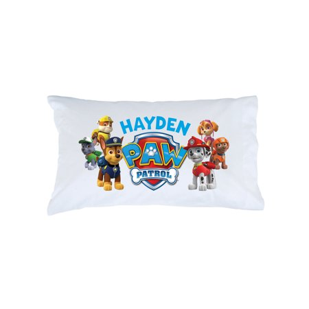 Personalized PAW Patrol Kids Pillowcase - Puptastic Pups
