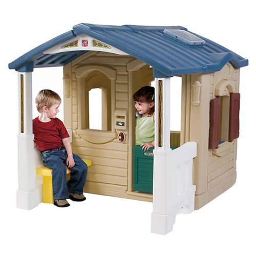 Step2 Naturally Playful Front Porch Playhouse for Toddlers by The Step2 Company