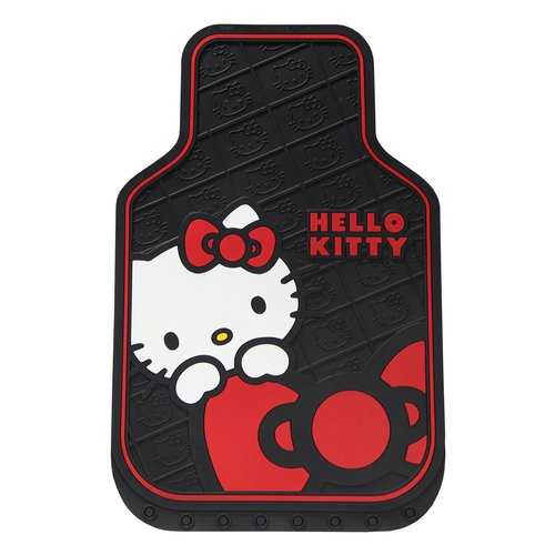 Plasticolor Hello Kitty Core Bow Floor Mat
