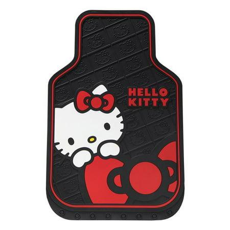 Plasticolor Hello Kitty Core Bow Floor Mat