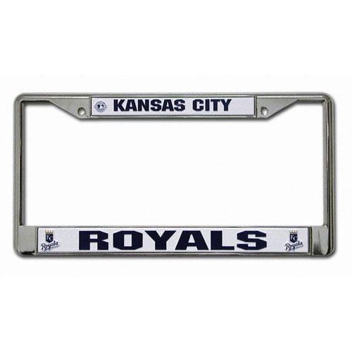 MLB - Kansas City Royals Chrome License Plate Frame