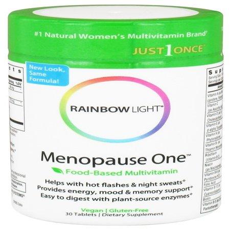 rainbow light menopause one multivitamin 30 tablets. Black Bedroom Furniture Sets. Home Design Ideas