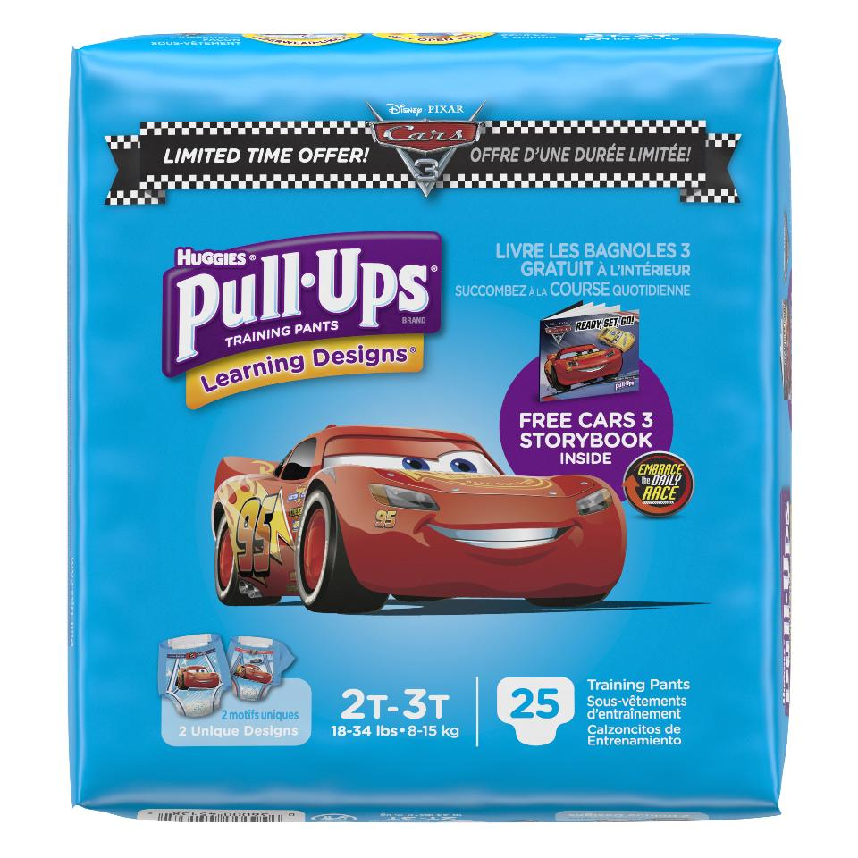 Huggies Pull-Ups Training Pants (Pack of 4)