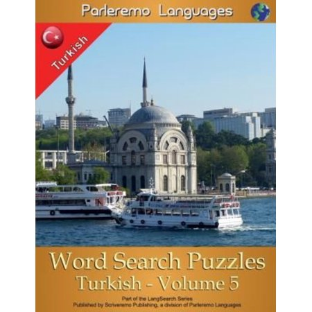 Parleremo Languages Word Search Puzzles Turkish   Volume 5