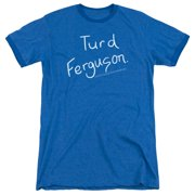 Saturday Night Live Turd Ferguson Mens Adult Heather Ringer Shirt