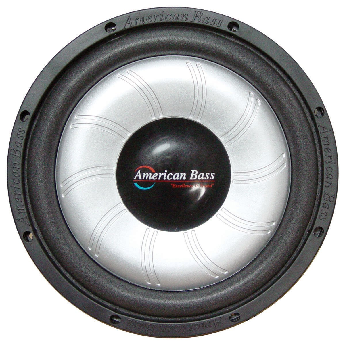 "American Bass SL-104 SL Series 10"" Single 4 Ohm Subwoofer 500 Watts Max Power"