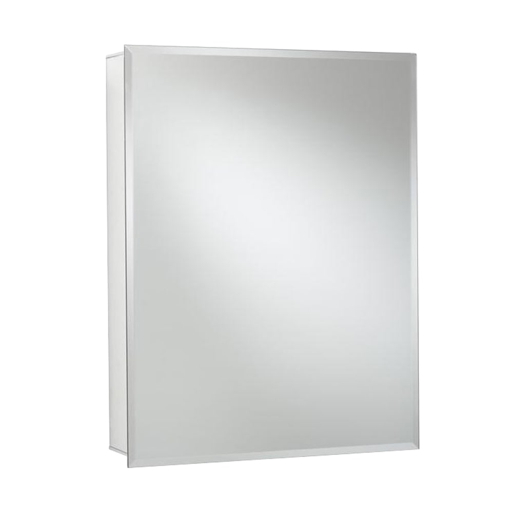 Croydex Recessed Or Surface Mount Medicine Cabinet In Aluminum With Hang  U0027Nu0027 Lock