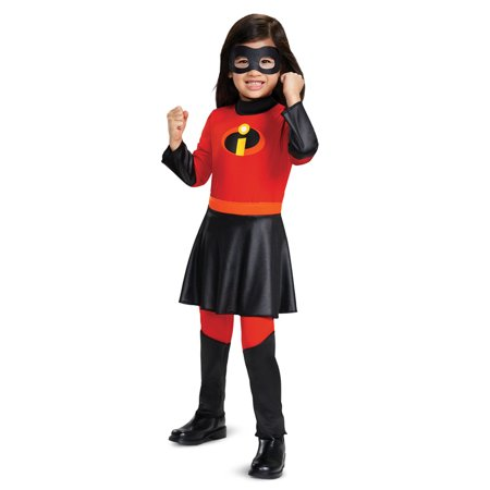 Girls The Incredibles 2 Violet Toddler Costume (The Incredibles Girl Costume)