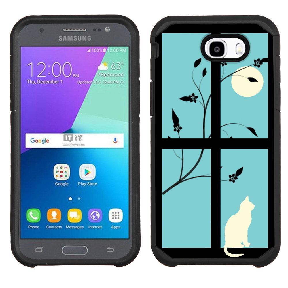 Hybrid Case for Samsung Galaxy J7 V / J7 Perx / J7 Sky Pro ...