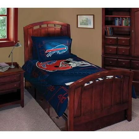 Buffalo Bills Twin Full Comforter Pillow Sham Set