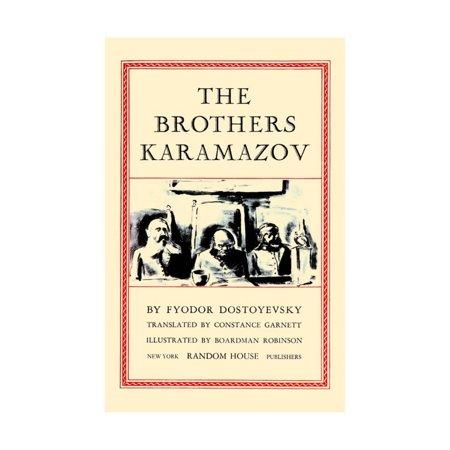 The Brothers Karamazov Print Wall Art By Boardman Robinson Walmart