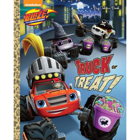 When Is Halloween 2017 Trick Or Treat (Truck or Treat! (Blaze and the Monster)