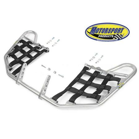- Suzuki LTR450 LTR 450 Quadracer Nerfbars Atv Nerf Bars Silver Bars/Black Nets