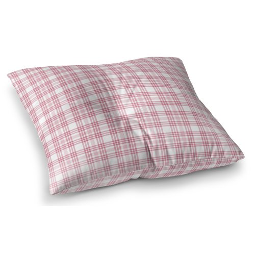 Harriet Bee Ridgeley Plaid Indoor/Outdoor Floor Pillow