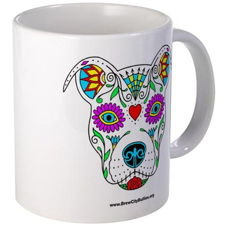 CafePress - Sugar Skull Color Mugs - Unique Coffee Mug, Coffee Cup CafePress