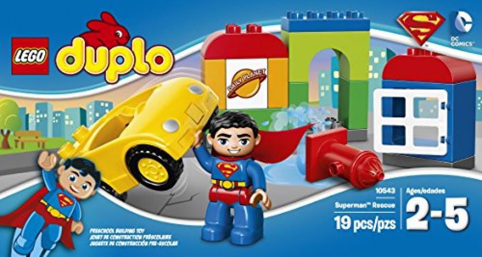 Lego Duplo Superman Rescue 10543 Superhero Car Cape Very good Condition